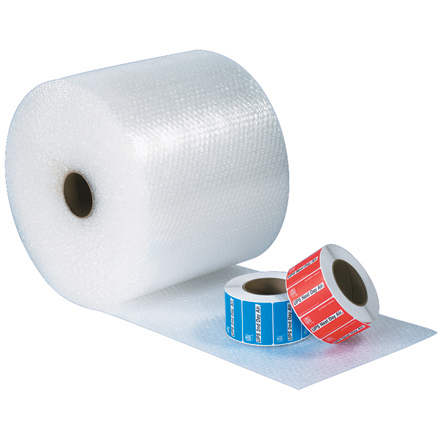 "3/16"" x 48"" x 300' UPSable Air Bubble Roll"