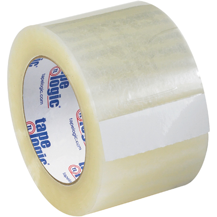 "3"" x 55 yds. Clear Tape Logic<span class='rtm'>®</span> #131 Quiet Carton Sealing Tape"