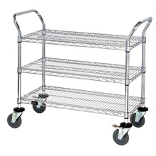 Heavy-Duty Wire Carts